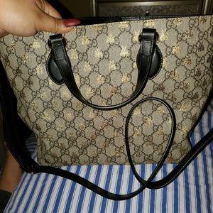 Authentic Gucci bgg supreme tote!